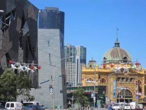 Flinders Stations a Melbourne
