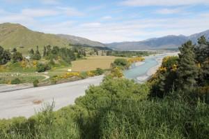 Quelque part sur le chemin entre Christchurch et Hanmer Springs.