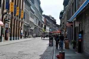 Le vieux Montréal (le vieux port)