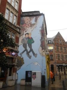 Bruxelles, à proximité de la Grand Place