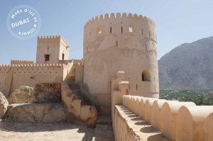 Fort traditionnel dans le Sultanat d'Oman