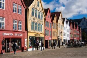 Bryggen classé à l'UNESCO
