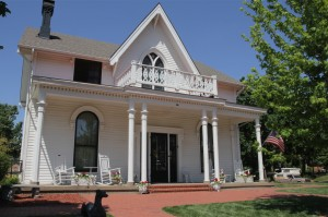 La maison de Amélia Earhart la célèbre aviatrice à Atchinson, Kansas