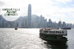 Le Star Ferry au départ de Kowloon