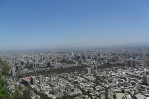 Une vue de la ville de Cerro.