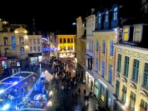 La Grand Place de Lille, à Noël