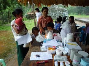 Humanitaire en Birmanie