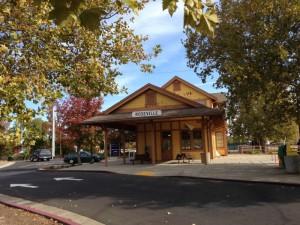 La gare de Roseville