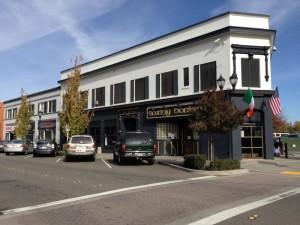 Un bar dans le centre ville de Roseville