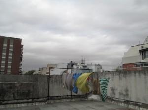 Quartier de Recoleta vu d'un toit