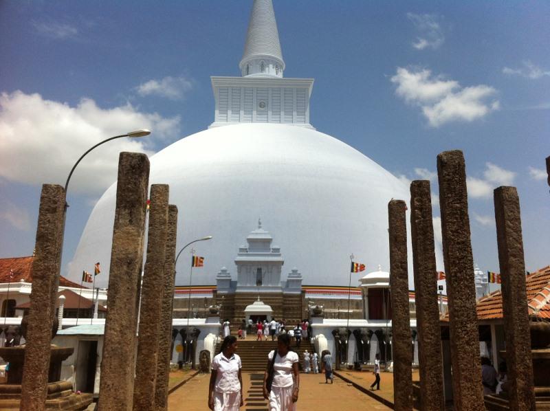 L'interview de Caroline, au Sri Lanka