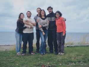 Nous avons emmené des amis français pour une expérience de Couchsurfing chez un couple Québécois à Rimouski