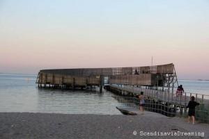Bain de soleil plage d'Amager Copenhague