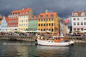 Nyhavn, vieux port de Copenhague