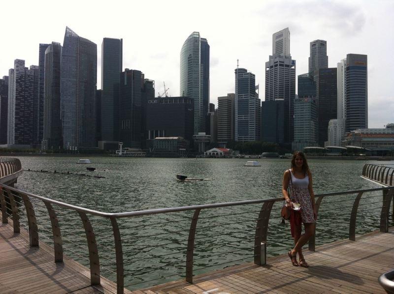 L'interview de Clémentine, à Singapour