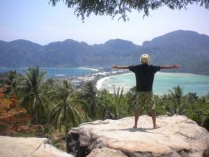Jérémy en Thailande