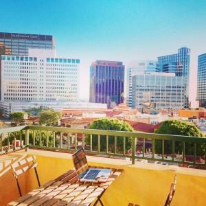 Westwood - Vue du balcon