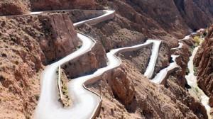 La route des Gorges du Dadès