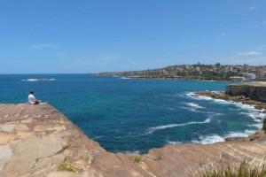 Falaises entre Bondi beach et Coogee Beach