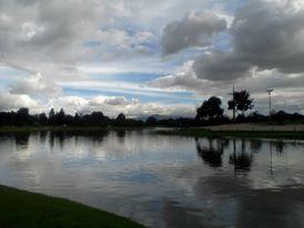 A Bogota, dans le parc Simon Bolivar