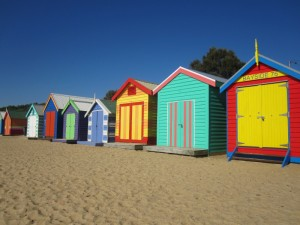Brighton Beach, la place la plus connue de Melbourne