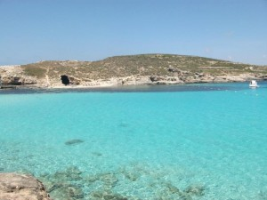 Le lagon Bleu, ile de Comino, Malte