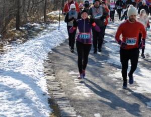 1ere course dans le froid Canadien