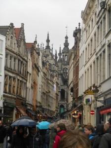 Bruxelles, rue menant à la Grand Place