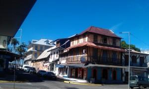 Rues de Cayenne - maison créole