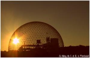 La biosphère dans le parc Jean Drapeau