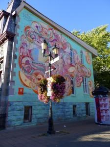 Street Art sur le Plateau, quartier de Montréal