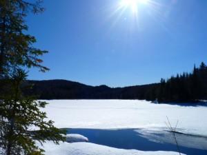 Le Parc de la Mauricie en hiver, à 2h de Montréal, un petit paradis sur terre québécois