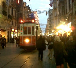Tramway d'antan Istiklal Cad