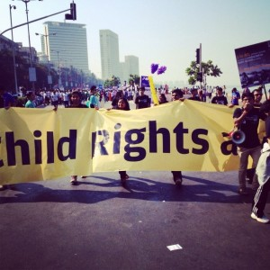 Marathon de Bombay avec CRY