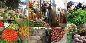 Marché au légumes