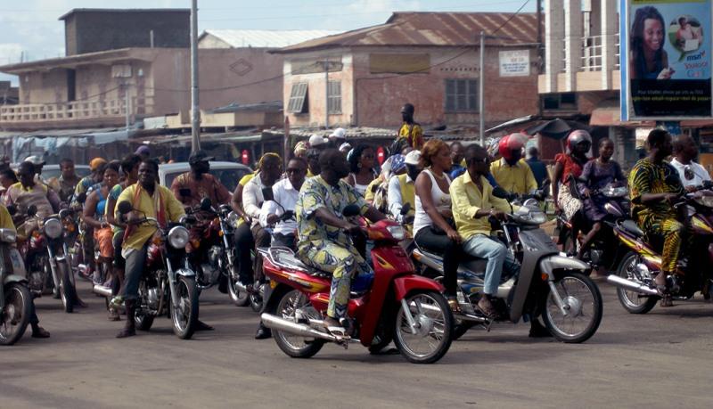 L'interview de France, au Bénin