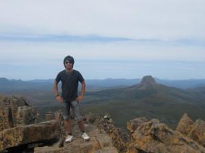 randonnée tasmanie tanned