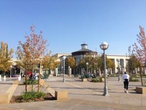 La place du centre ville de Roseville
