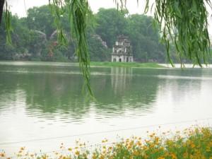 Lac Hoan Kiem à Hanoï