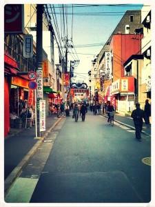 Une rue de Sugamo