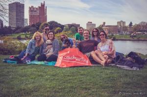 Rencontre avec des membres du personnel de Couchsurfing à San Francisco