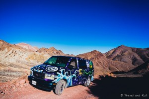 Camion dans le Death Valley National Park