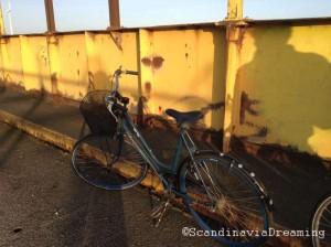 Mon vélo à Copenhague