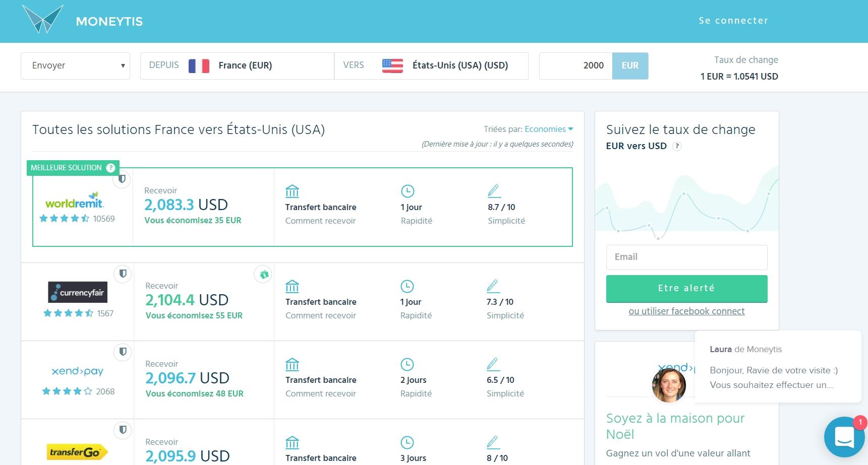 Moneytis, la meilleure solution pour envoyer de l'argent à l'international
